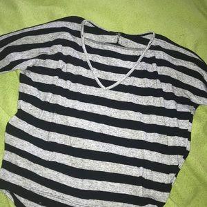 Black & Gray Shirt